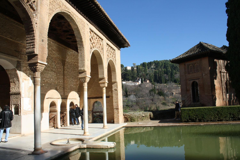 Fotos jardines del partal alhambra for Jardines alhambra