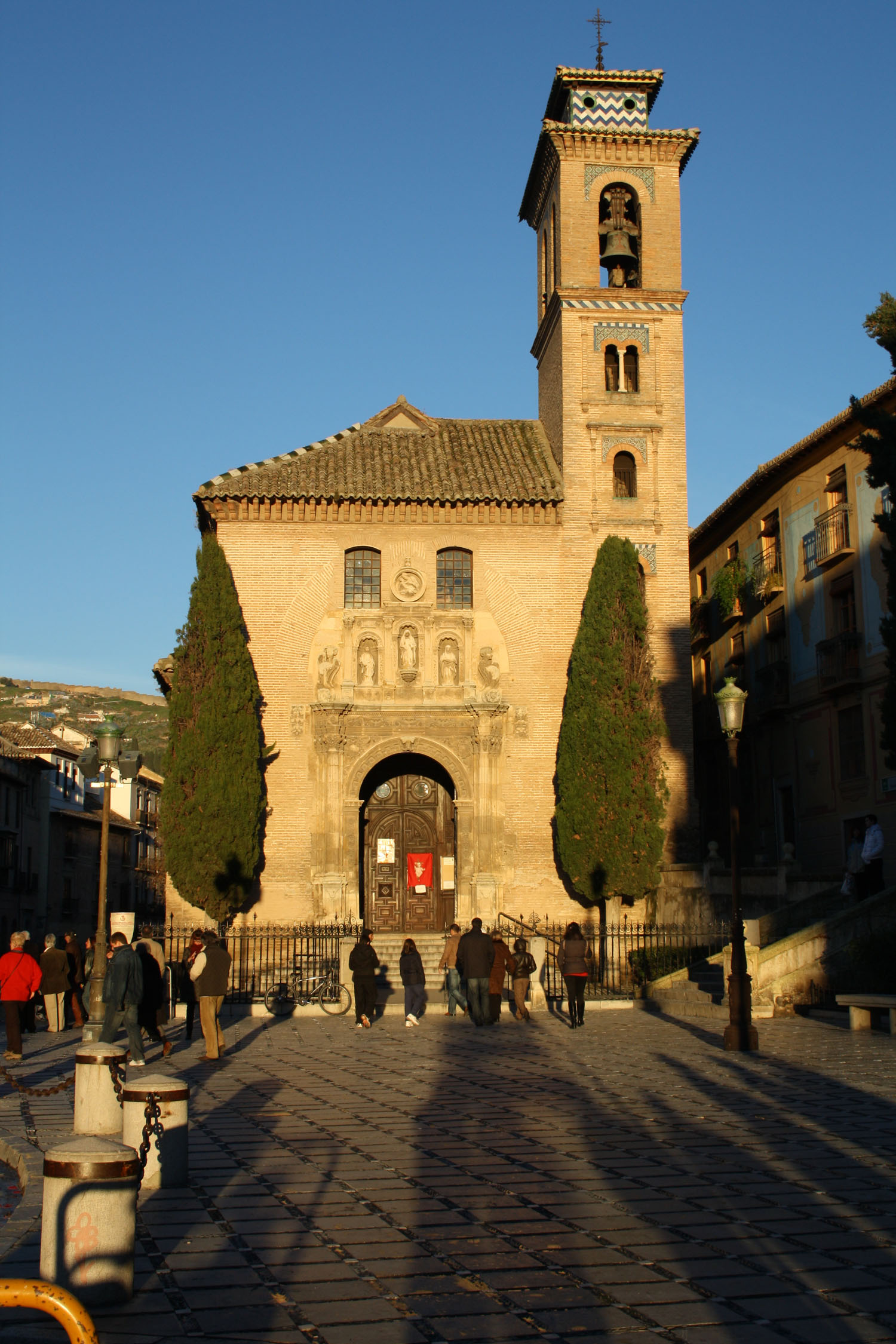 Iglesia de santa ana y san gil acera de darro - Santa ana granada ...