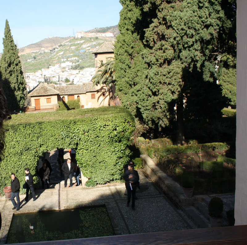 Jardines de la alhambra for Jardines alhambra